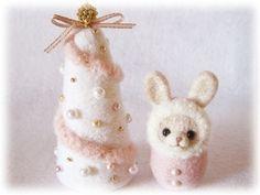 羊毛フェルト クリスマスツリー - Yahoo!検索(画像)