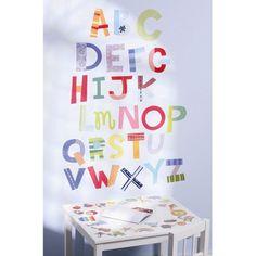 Wallies® Wall Play Alphabet Fun Peel & Stick décor