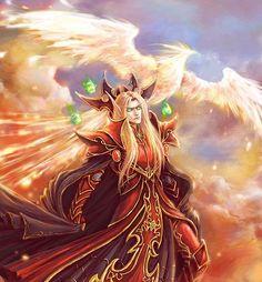 World of Warcraft Art Board ^^ // Blizzard // wow // // Digital // Geek // Kael'thas sunstrider Art Warcraft, World Of Warcraft Game, World Of Warcraft Characters, World Of Wacraft, Arthas Menethil, Blizzard Wow, Blood Elf, Heroes Of The Storm, Alien Races