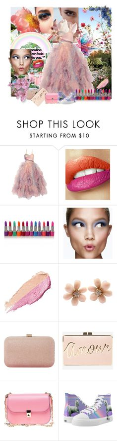 """""""SPRING IS HERE"""" by svetlozeme on Polyvore featuring Givenchy, Marchesa, Clinique, By Terry, Van Cleef & Arpels, Dune, BCBGMAXAZRIA and Valentino"""