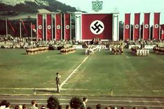 "A National Socialist sporting event held to display the physical prowess of the nation's young Aryan athletes. This was done as part of the campaign meant to support the National Socialist racial philosophy of the ""Übermensch"", or the ""Superior Man"" in which they believed could only exist in those possessing Nordic blood."