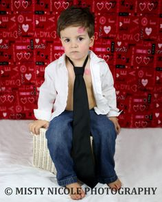 2 year old boy pictures, Valentine's Day picture idea for boys