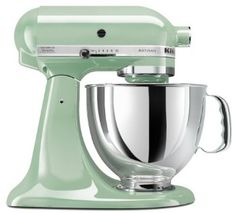 Ahhh pistachio colored kitchen aid. I neeed youuuu