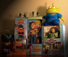 Toy Story Toys    http://www.pinterest.com/lasertagparty