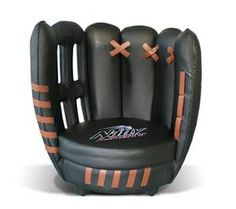 Baseball Glove Chair - 12329 - IdeaStage Promotional Products