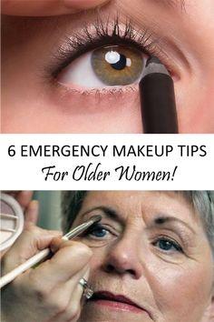 20 Makeup Tips All Older Women Should Kn. - 20 Makeup Tips All Older Women Should Know (Slideshow) - Natural Makeup For Teens, Makeup Tips For Older Women, Beauty Tips For Hair, Older Beauty, Beauty Secrets, Makeup Tricks, Makeup Tools, Makeup Tutorials, Makeup Ideas