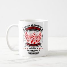 Aerospace Engineer Mug Engineering Coffee Mug Gift - home gifts cool custom diy cyo
