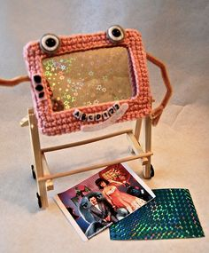 Magic Screen amigurumi, via Flickr.