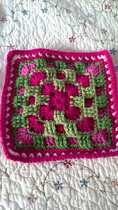 Ravelry: Project Gallery for Brighter Daze Square pattern by Melissa Green