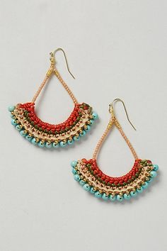 Sunbird Crochet Drops #anthropologie