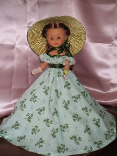 Nancy en particular: Lo que el cierzo se llevó Pram Toys, Nancy Doll, Doll Making Tutorials, Glamour Dolls, Homemade Toys, Gone With The Wind, Southern Belle, Custom Dolls, Diy Doll