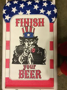 Finish your beer.
