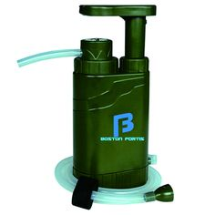 Boston Fortis Explorer Pro äóñ Multifunctional Portable Outdoor Water Filter Purifier 0.1 Micron for Camping, Hiking, Backpacking, Traveling and Prepping, with 5 Additional Emergency Features >>> You can find more details by visiting the image link.