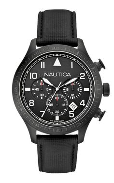 TimeZone : Industry News » N E W  M o d e l - Nautica BFD 105 Aviation Chronograph