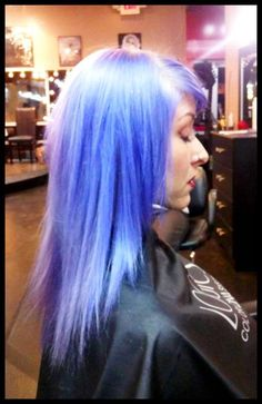 Extreme Hair Color ~ Harlow Salon ~ Nashville, TN - lovely lavender color by Kendra Long