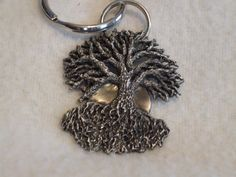 Tree of life keychain. Pagan Druid Witch by MoonMagicCreations, $15.00