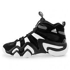 b6aee526029 Adidas Crazy 8 Mens G21939 Black White Retro Basketball Shoes Sneakers Size  9 Kobe Basketball