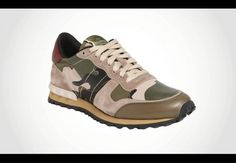 Valentino camouflage #sneaker, $795, nordstrom.com #shoes