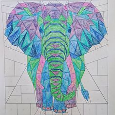Image result for elephant abstractions quilt