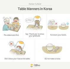 Learn how to be polite at the dinner table with these 5 rules!
