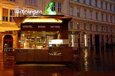 Roadtrippin Innerestadt Albertina Würstelstand Vienna Austria, Hot Dog, Broadway Shows, Teaser, Travelling, Vienna, Chili Dogs, Sausages