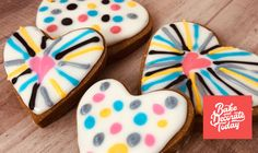 Bored of traditional sugar cookies? Here is a perfect cookie for decorating. It makes a sturdy and delicious cookie to become one of your favorite recipes. Enjoy. Get printable recipe.