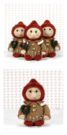 Christmas Crochet Patterns, Holiday Crochet, Magic Ring Crochet, Crochet Daisy, Yarn Tail, Single Crochet Stitch, Amigurumi Patterns, Christmas Toys, Crochet Crafts
