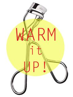 Beauty Tip: Heat up your eyelash curler with a blow dryer on it's hot setting. Then after testing to make sure your curler is not too hot on your skin, curl your lashes! It works so much better this way!!
