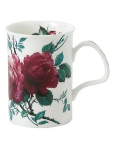 From the English Rose Collection. Essential bone china mug with a beautiful rose motif. Bone china Dishwasher safe Made in UK SIZING Capacity, oz. x x Home > Dining & Entertaining > Serveware > Cups & Saucers. English China, China Mugs, Made In Uk, English Roses, Fine China, Beautiful Roses, Cup And Saucer, Entertaining, Serveware