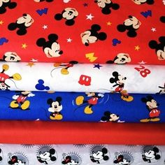 Disney Mickey Mouse 2 - Bundle - Cotton Disney Mickey Mouse, Snoopy, Fabric, Cotton, Fictional Characters, Art, Tejido, Art Background, Kunst