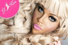 Lil Kim in her earlier years - just like a doll!
