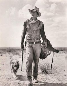 John Wayne...only the best cowboy there ever was!! ;D