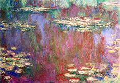"bofransson:  ""Claude Monet Water lilies 1905  """