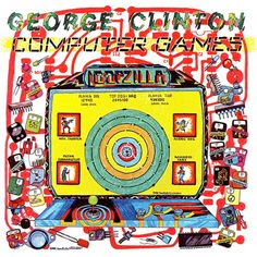 Computer Games. Released the 5th of November in 1982. #GeorgeClinton http://www.roeht.com/computer-games/  #vinyl #vinylrecords #33rpm #12inches #LP