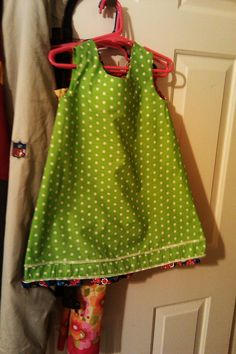 Easy kids dress to sew