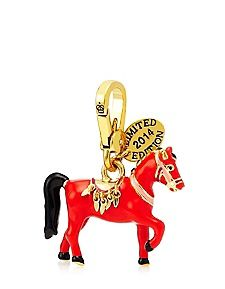 Limited Edition Year of the Juicy Couture Horse Charm. Perfect gift for a horse lover.
