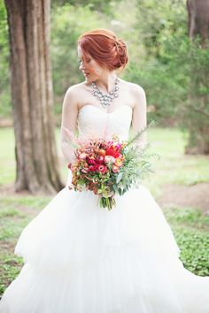 Photography: Paperlily Photography - www.paperlilyphotography.com  Read More: http://www.stylemepretty.com/2014/01/20/oak-hill-the-martha-berry-museum-wedding/