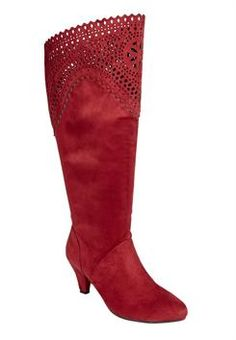 Womens wide calf boots size 8 2017