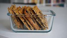 Domácí knäckebrot - Kuchařka pro dceru Pizza, Bread, Recipes, Brot, Baking, Breads, Ripped Recipes, Buns