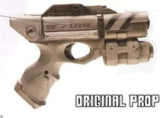 This prop is based on the one used by River Song in The Pandorica Opens and other episodes of Doctor Who. It has no trigger, so can be taken into