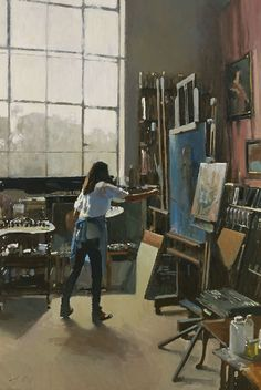 Paul Rafferty   (01) The Artist, Tite Street - Pinned by dinastumpf.com