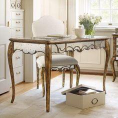 Hooker Furniture Mirrored Writing Desk - 5199-10482
