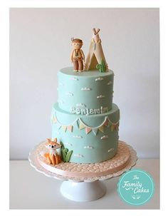 Bolo Indio / Teepee Cake - The Family Cakes