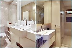 20 banheiros clarinhos