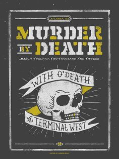 GigPosters.com - O'death - Murder By Death