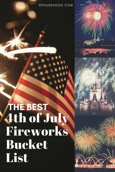 4th of July Fireworks Bucket List for Military Families | www.spousehood.com