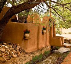 I DREAM of adobe walls in my backyard...