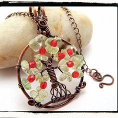 I am loving this tree of life pendant - so pretty and organic. #handmade #jewelry