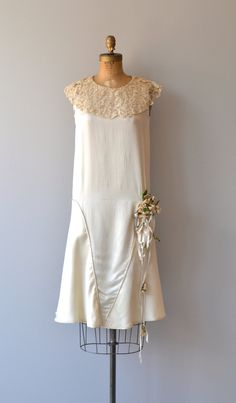 Annecy wedding dress 1920s wedding dress vintage от DearGolden