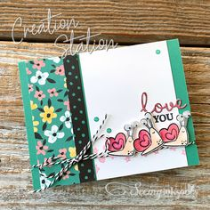 Seeing Ink Spots: Cute Critters for Creation Station Blog Hop Handmade Greetings, Greeting Cards Handmade, Paper Hearts, Paper Pumpkin, More Cute, Family Love, Stampin Up, Valentines, Scrapbook